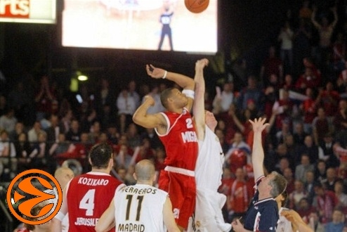 Tipp off - Real Madrid - Hapoel Migdal - UC Final 2003-04