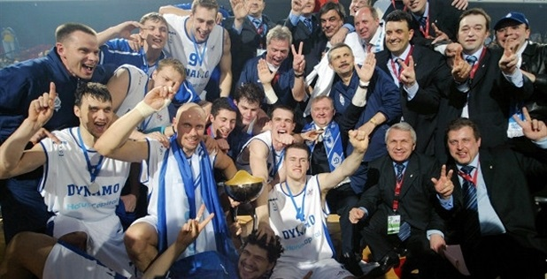 Dynamo Moscow is ULEB Cup champ