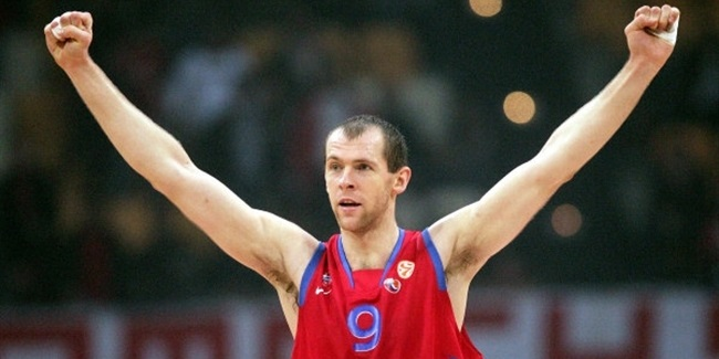 MVP for April: Ramunas Siskauskas, CSKA Moscow