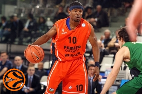 Shammond Williams - Pamesa Valencia - Final Eight Turin 2008