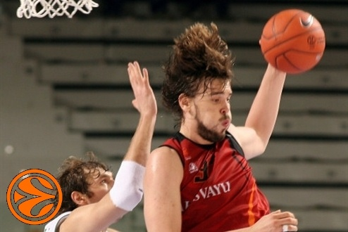 Marc Gasol - Akasvayu Girona - Final Eight Turin 2008