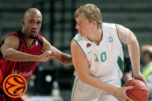 Nikolay Padius - Unics Kazan - Final Eight Turin 2008
