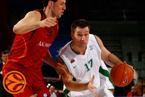 Marko Tusek - Unics Kazan - Final Eight Turin 2008