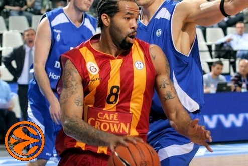 Charles Gaines - Galatasaray Cafe Crown - Final Eight Turin 2008