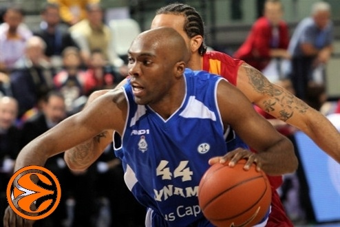 Henry Domercant - Dynamo Moscow - Final Eight Turin 2008