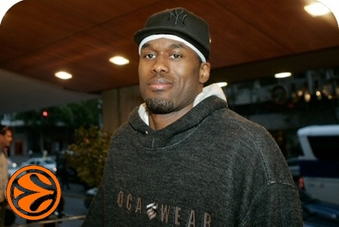 Marcus Goree - CSKA Moscow arrival Madrid - Final Four Madrid 2008