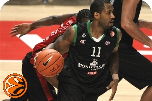 Bootsy Thornton - Montepaschi Siena - 3rd place Montepaschi vs. Tau Ceramica - Final Four 2008