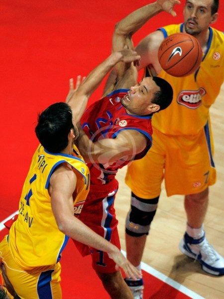 Trajan Langdon - CSKA Moscow - Final, Maccabi Elite vs. CSKA Moscow - Final Four 2008