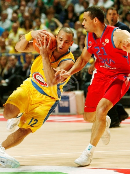 Alex Garcia - Maccabi Elite - Final, Maccabi Elite vs. CSKA Moscow - Final Four 2008