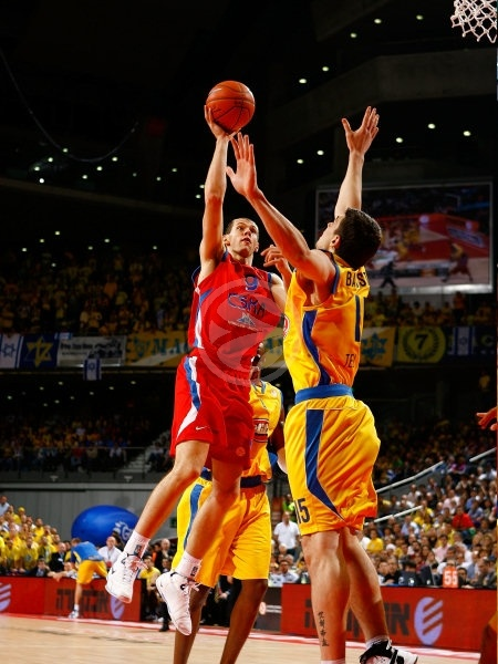 Ramunas Siskauskas - CSKA Moscow - Final, Maccabi Elite vs. CSKA Moscow - Final Four 2008