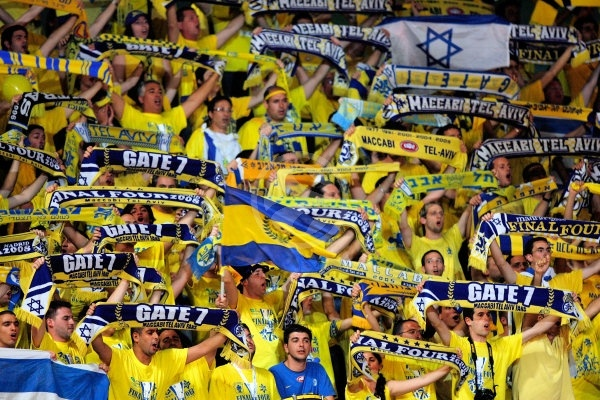 Maccabi fans - Maccabi Elite - Final, Maccabi Elite vs. CSKA Moscow - Final Four 2008