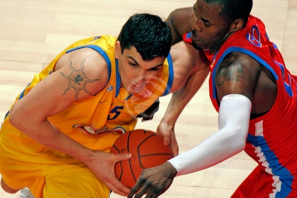 Esteban Batista - Maccabi Elite - Final, Maccabi Elite vs. CSKA Moscow - Final Four 2008