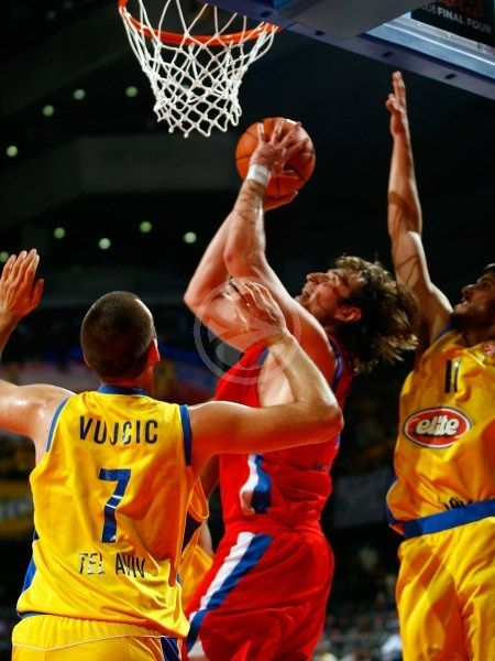 Matjaz Smodis - CSKA Moscow - Final, Maccabi Elite vs. CSKA Moscow - Final Four 2008