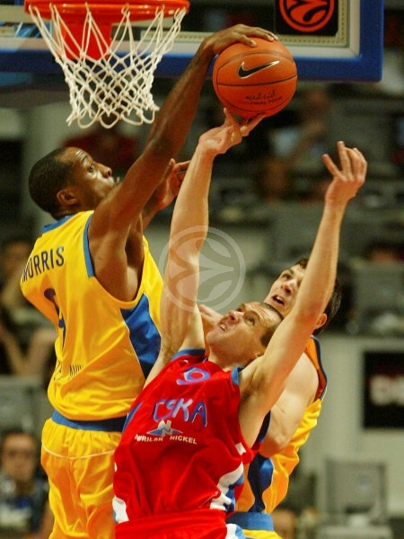 Terence Morris - Maccabi Elite - Final, Maccabi Elite vs. CSKA Moscow - Final Four 2008