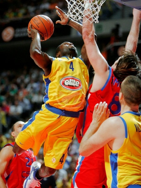 Will Bynum - Maccabi Elite - Final, Maccabi Elite vs. CSKA Moscow - Final Four 2008
