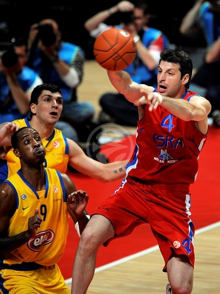 Theo Papaloukas - CSKA Moscow - Final, Maccabi Elite vs. CSKA Moscow - Final Four 2008