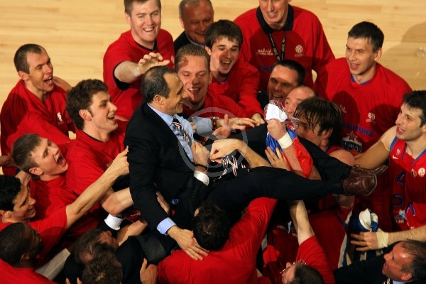 Ettore Messina - CSKA Moscow EB Champion 2007-08 - Final Four Madrid 2008