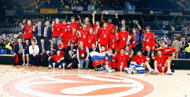 CSKA Moscow is Euroleague champ