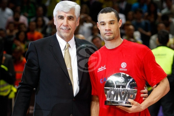 Trajan Langdon MVP - CSKA Moscow, EB Champion 2007-08 - Final Four Madrid 2008