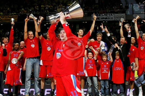 CSKA Moscow is the new Champion - CSKA Moscow, EB Champion 2007-08 - Final Four Madrid 2008 slide