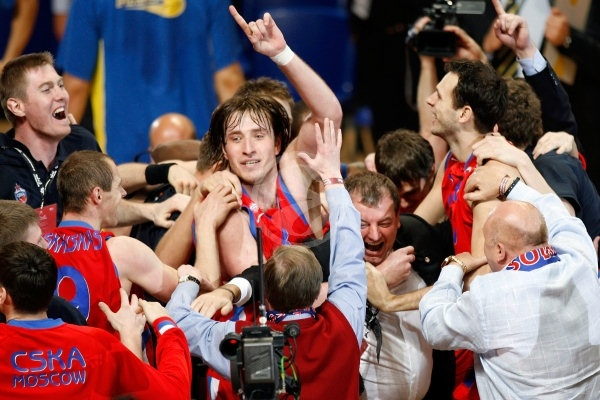 Matjaz Smodis - CSKA Moscow, EB Champion 2007-08 - Final Four Madrid 2008