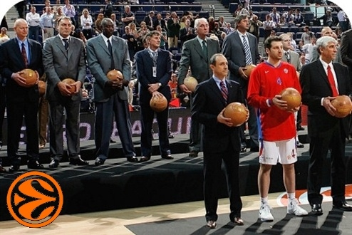 Legends Ceremony - 50 years legends in Madrid - Final Four Madrid 2008