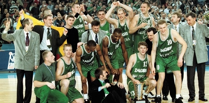 Rezultat slika za euroleague 1999 zalgiris