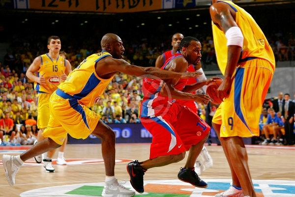J.R. Holden - CSKA Moscow - Final, Maccabi Elite vs. CSKA Moscow - Final Four 2008