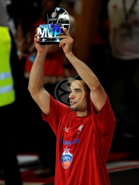 Trajan Langdon MVP - CSKA Moscow EB Champion 2007-08 - Final Four Madrid 2008