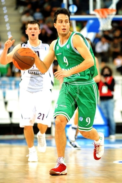 Massimo Bulleri - Benetton Basket - Final Eight Turin 2009