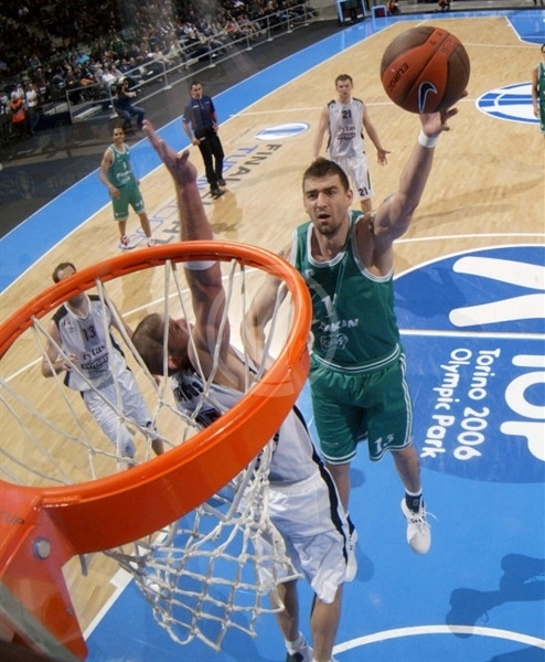 Radoslav Rancik - Benetton Basket - Final Eight Turin 2009