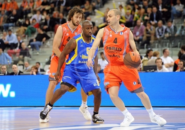 Albert Oliver - Pamesa Valencia - Final Eight Turin 2009