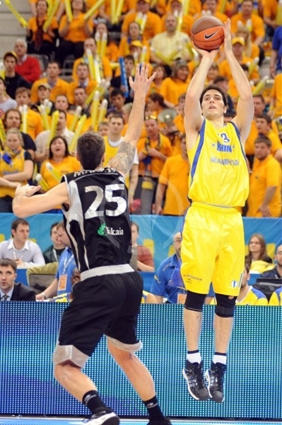 Mike Wilkinson - BC Khimki - Final Eight Turin 2009