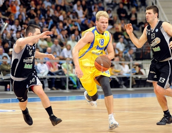 Anton Ponkrashov - BC Khimki - Final Eight Turin 2009