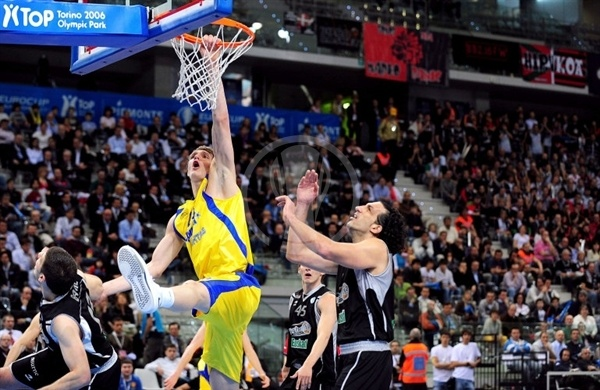 Teemu Rannikko - BC Khimki - Final Eight Turin 2009