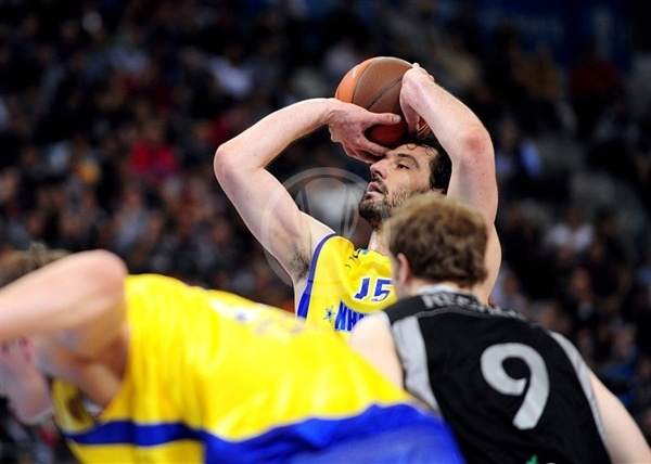 Jorge Garbajosa - BC Khimki - Final Eight Turin 2009