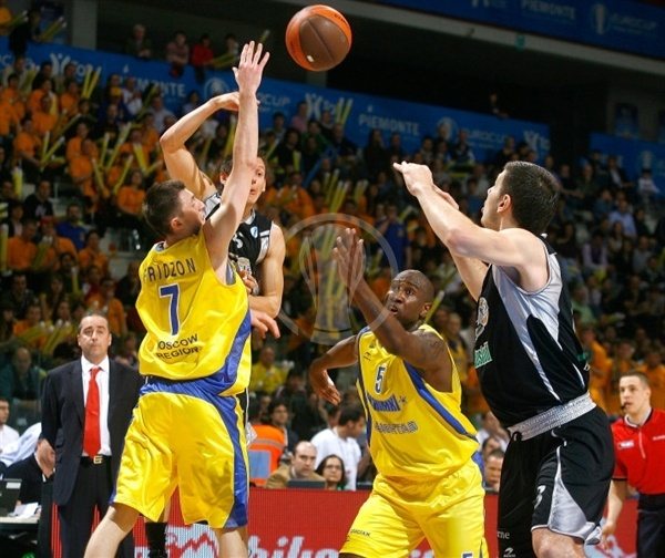 Janis Blums and Marko Banic - iurbentia Bilbao - Final Eight Turin 2009