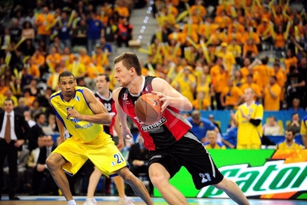 Arturas Jomantas - Lietuvos Rytas - Final Eight Turin 2009
