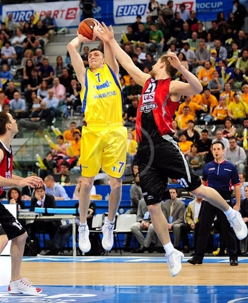 Vitaly Fridzon - BC Khimki - Final Eight Turin 2009