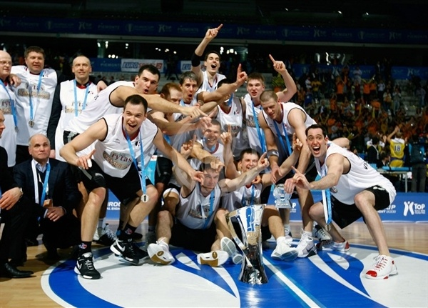 Lietuvos Rytas is 2008-09 Eurocup Champ - Final Eight Turin 2009