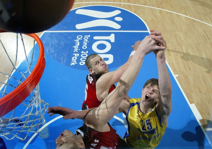 Timofey Mozgov - BC Khimki - Final Eight Turin 2009