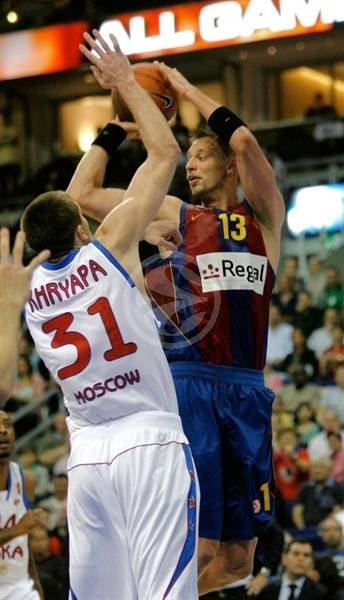 David Andersen - Regal FC Barcelona - Final Four Berlin 2009