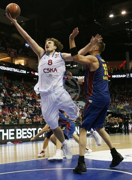 Matjaz Smodis - CSKA Moscow - Final Four Berlin 2009