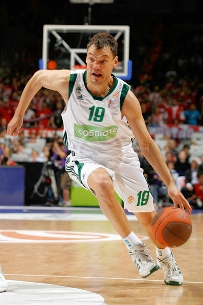 Sarunas Jasuikevicius - Panathinaikos - Final Four Berlin 2009