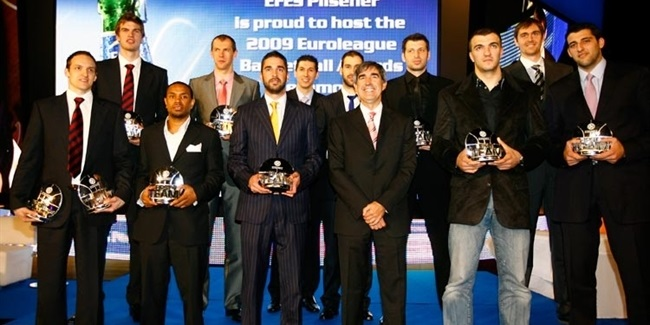 Official Awards Ceremony names MVP, All-Euroleague First Team