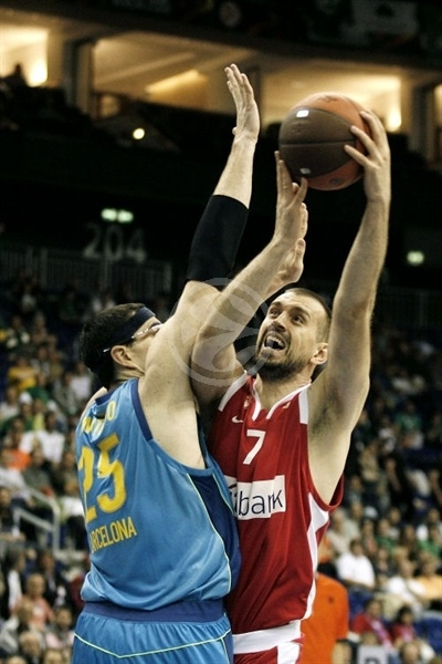 Nikola Vujcic - Olympiacos - Final Four Berlin 2009