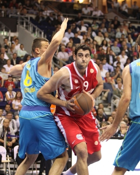 Ioannis Bourousis - Olympiacos - Final Four Berlin 2009