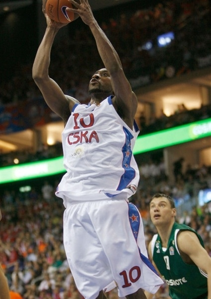 J. R. Holden - CSKA Moscow - Final Four Berlin 2009
