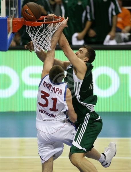 Nikola Pekovic - Panathinaikos - Final Four Berlin 2009