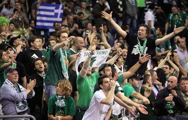 Panathinaikos fans - Panathinaikos - Final Four Berlin 2009